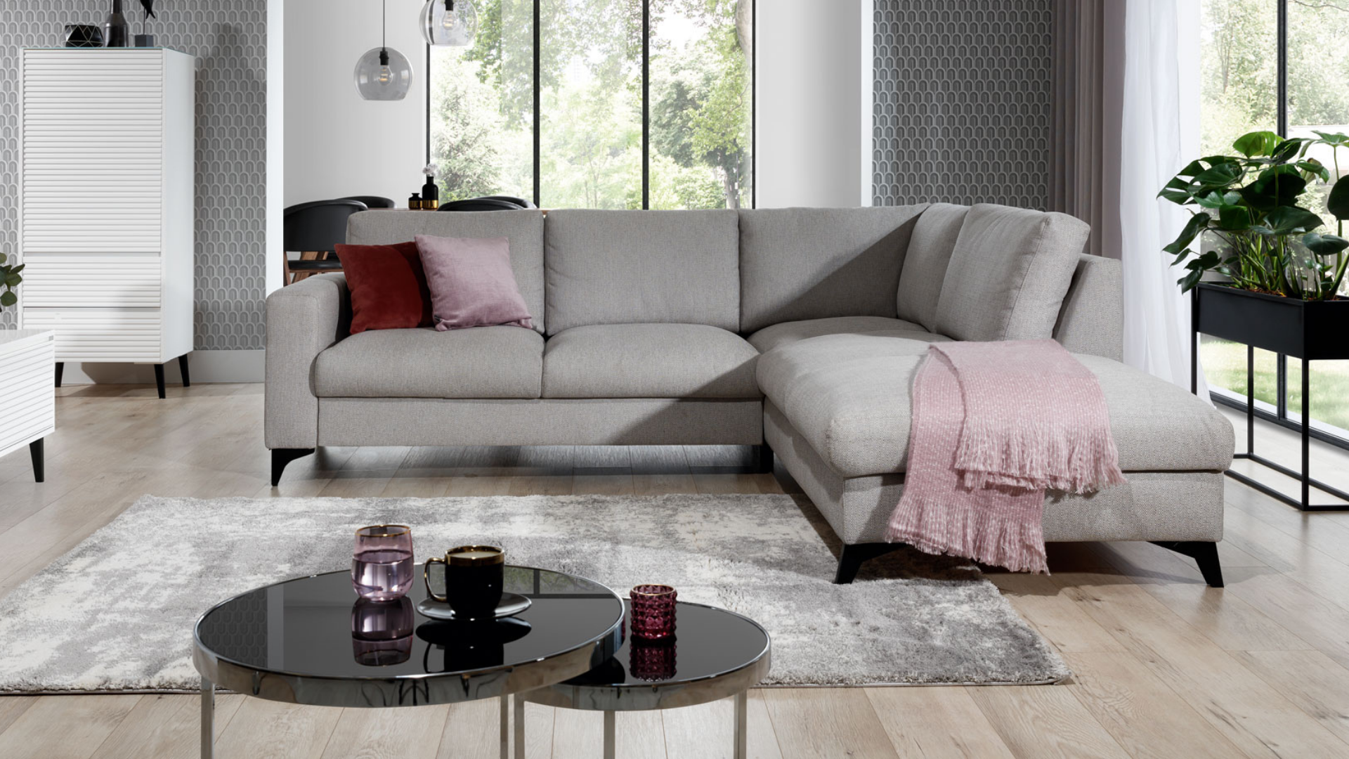 Corner sofa with sleeping function Orlando