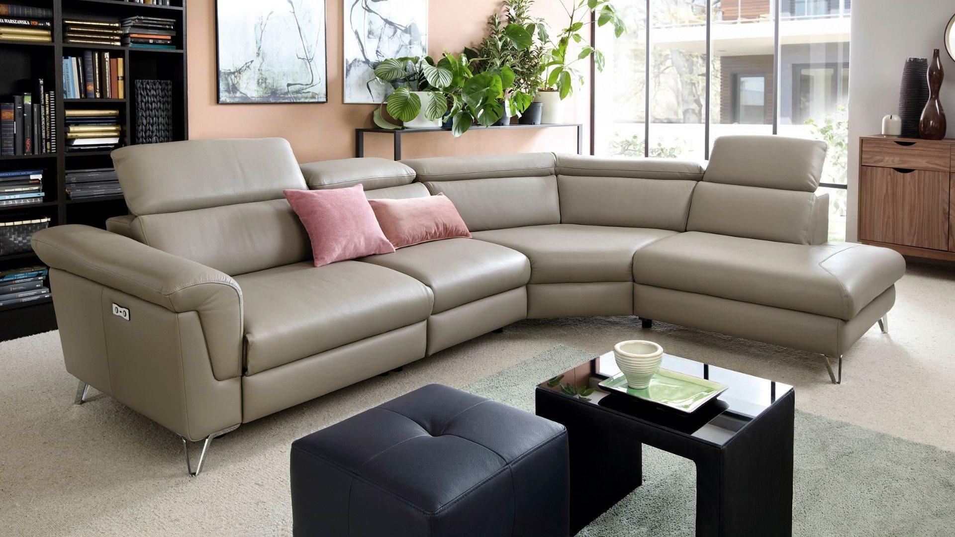 Corner sofa with sleeping function Hampton