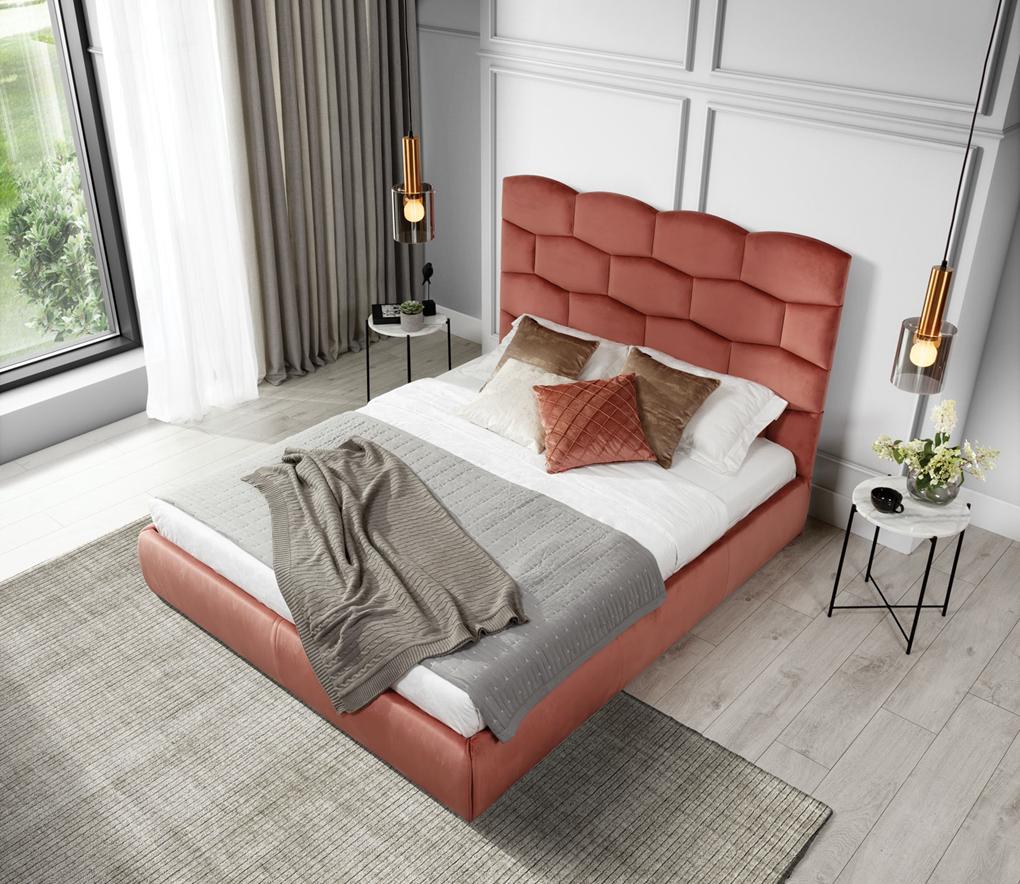 Łóżko z pojemnikiem Harlem 160
