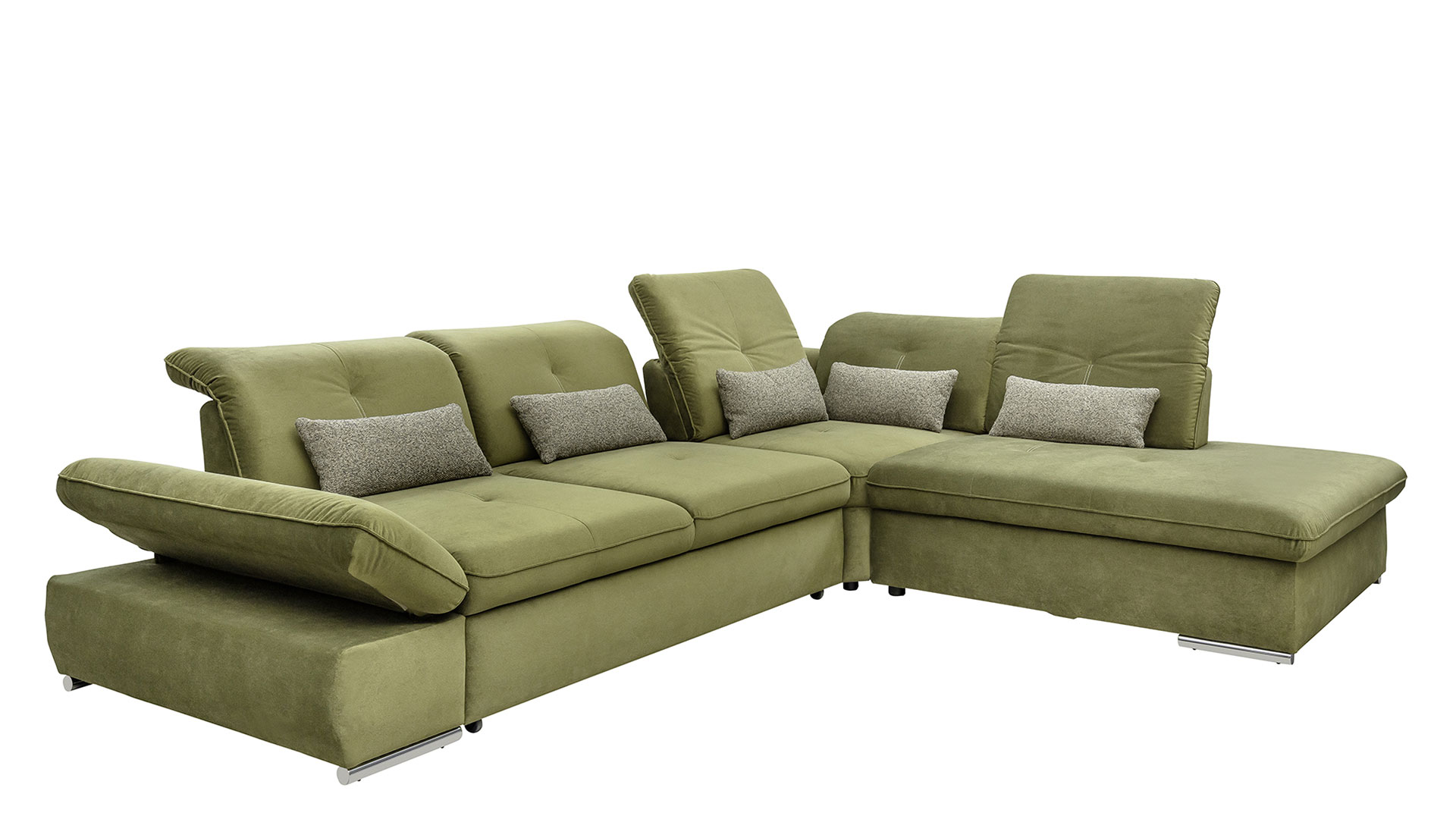 Corner sofa with sleeping function Edit