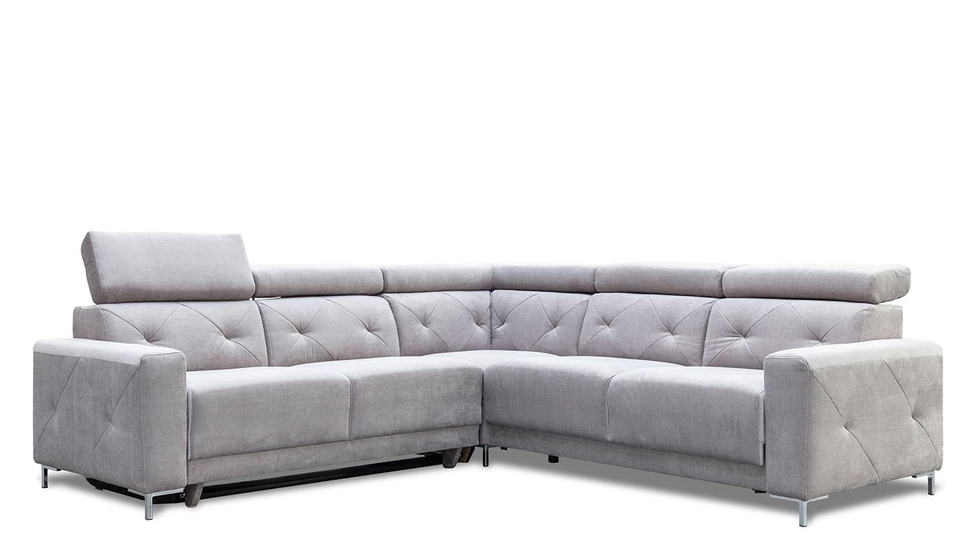 Corner sofa with sleeping function Life