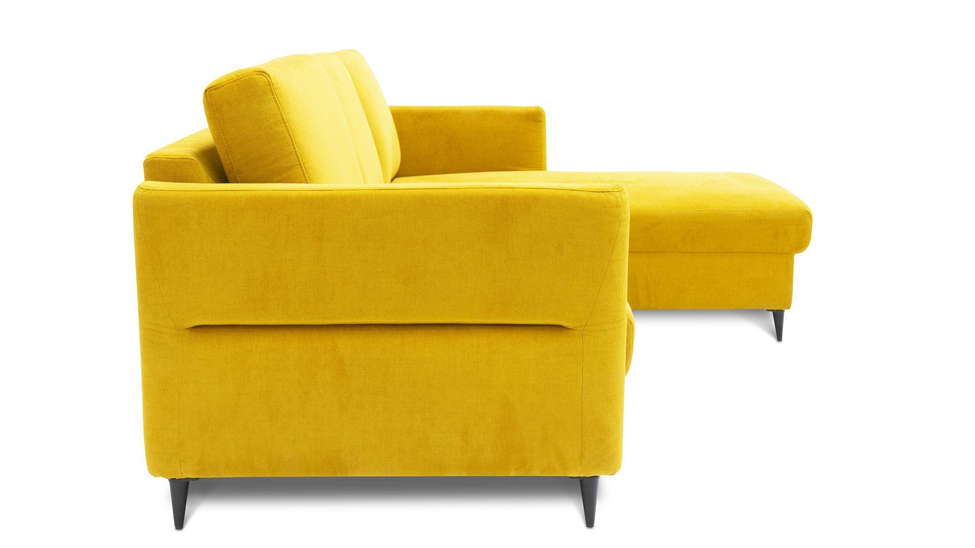 Żółty narożnik z pojemnikiem Orlando