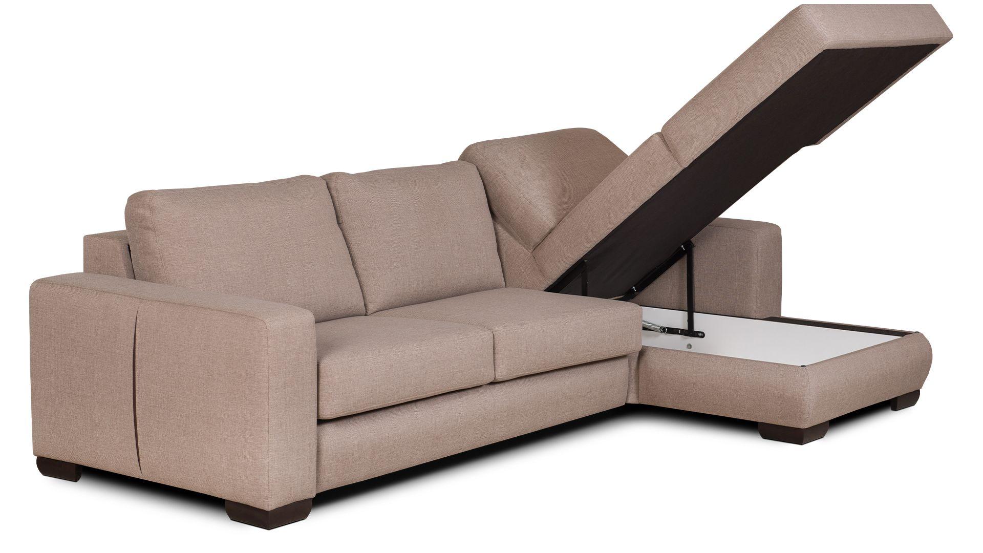 Corner sofa with sleeping function Space
