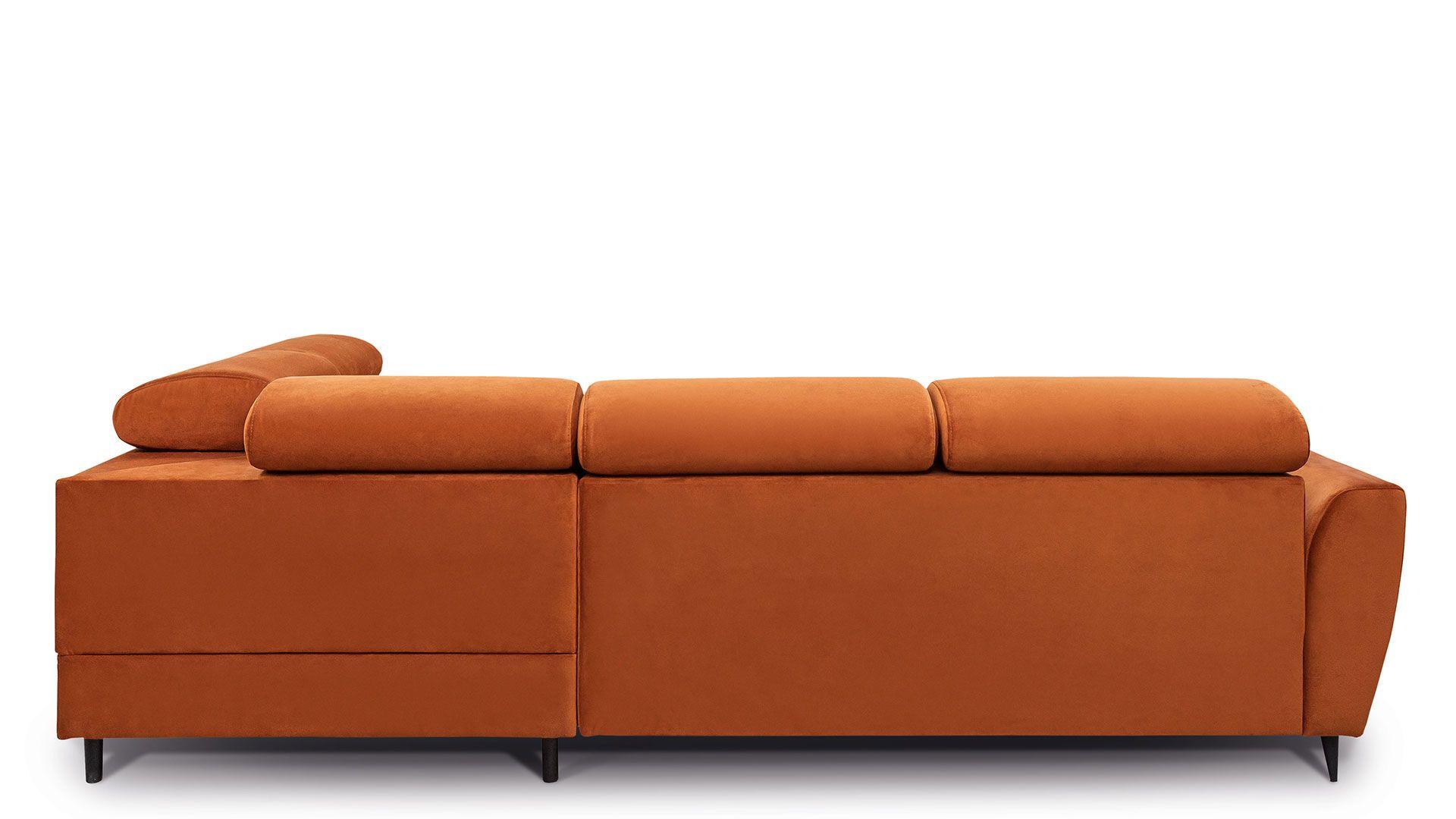 Pomarańczowy narożnik funkcja spania Avivo