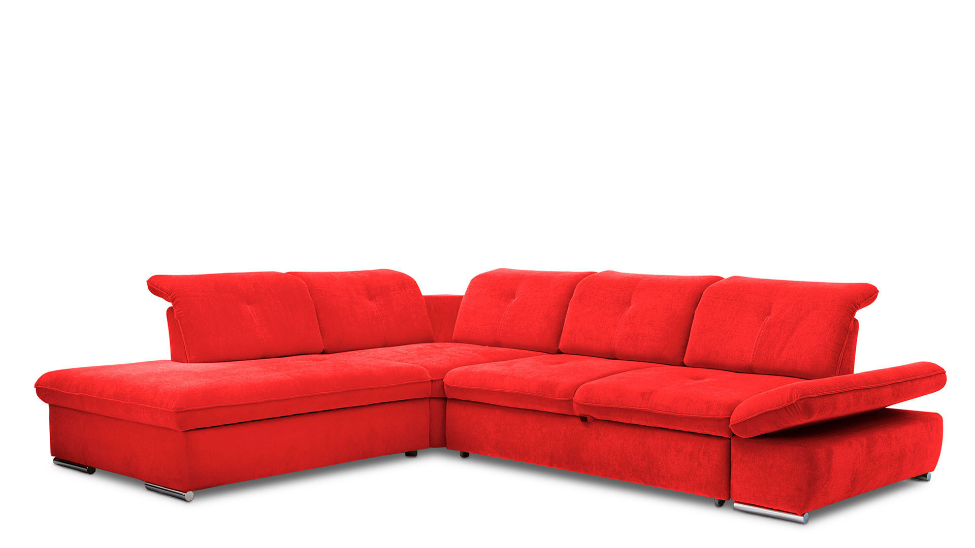 Corner sofa with sleeping function Edit