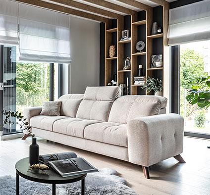 Metamorfoza salonu – domowa harmonia w naturalnych kolorach ziemi