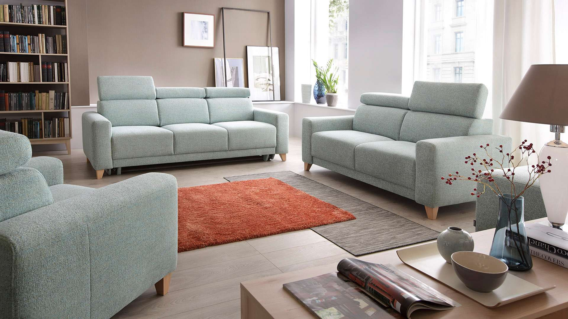 Sofa with sleeping function Kelly