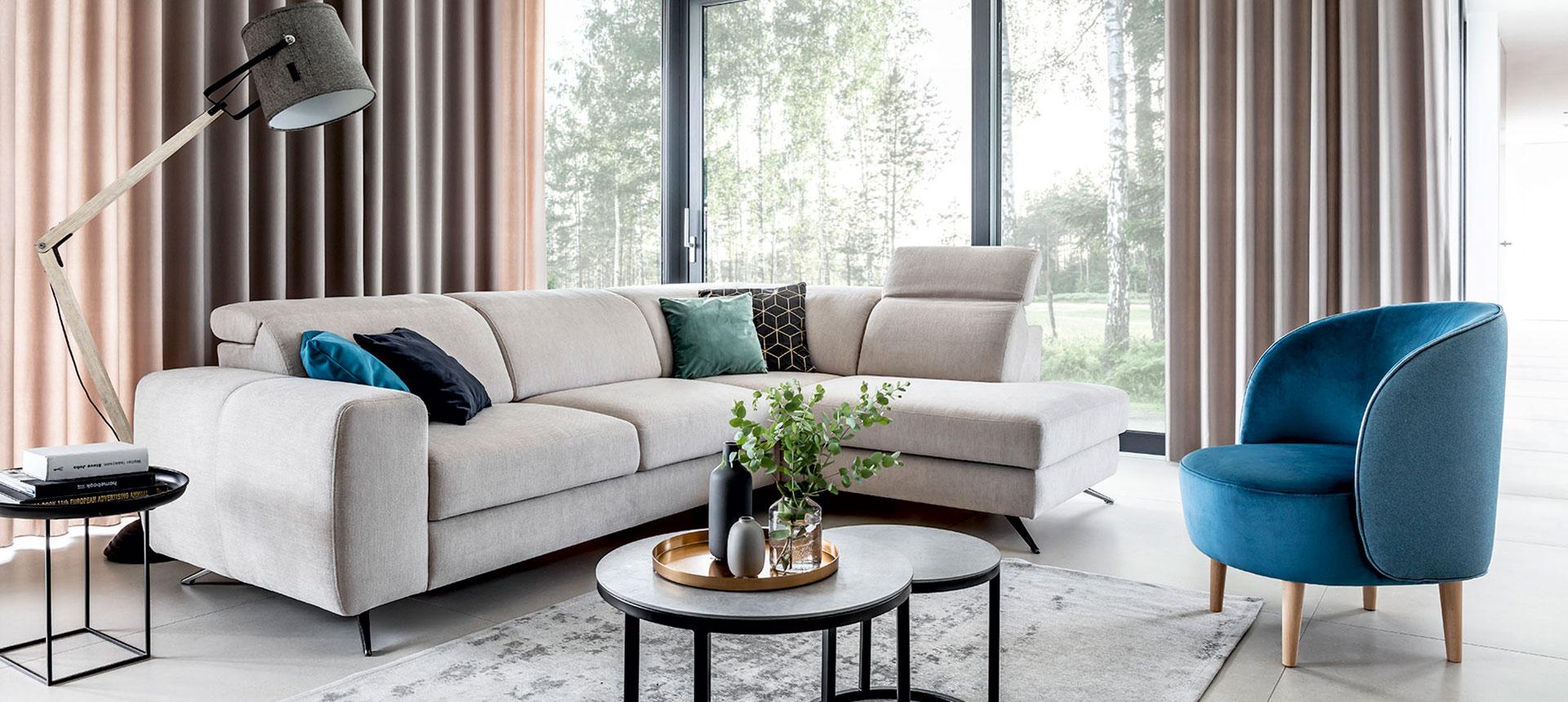 Corner sofa with sleeping function Mocca