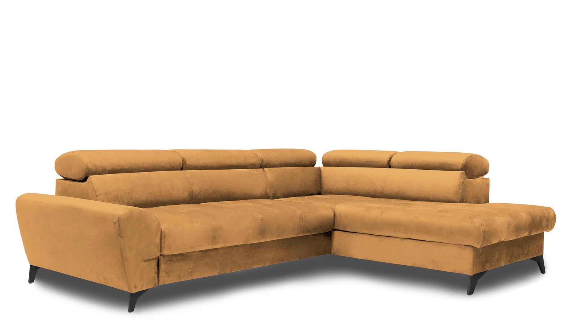 Corner sofa with sleeping function Swan