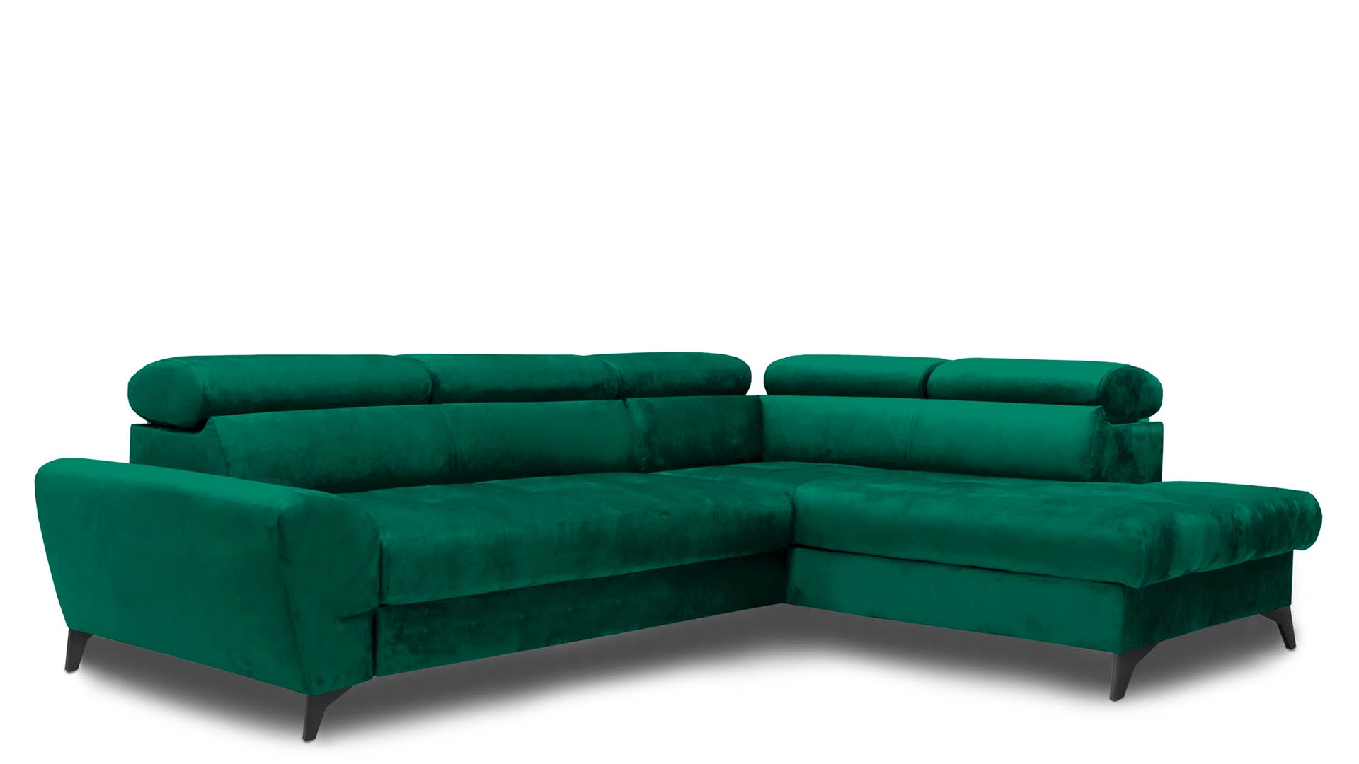 Corner sofa with sleeping function Swan